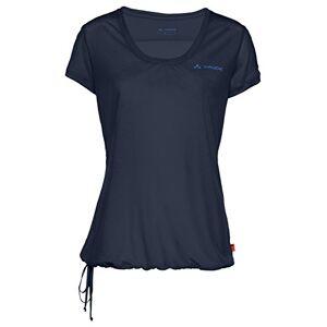 Vaude Vallanta T-shirt voor dames, blauw, 40