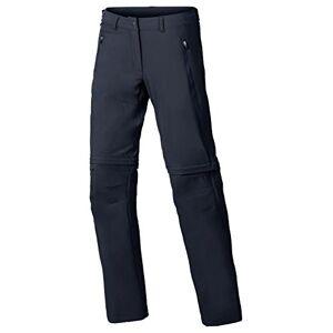 Vaude Farley Stretch Zip Off T-Zip Pants, dames, blauw