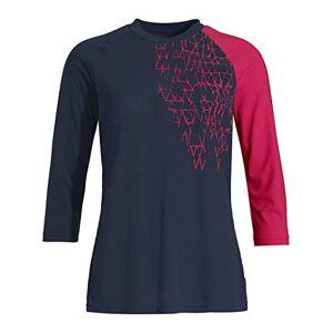 Vaude Moab Ls Shirt Iii met lange mouwen voor mountainbikes T, blauw, 42