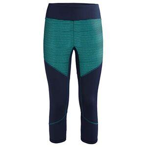 Vaude Back Bowl, 3/4-Onderbroek voor dames, blauw, 38