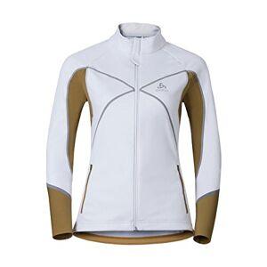 odlo Nagano X windstopper jacket Women White-dull Goud, xl