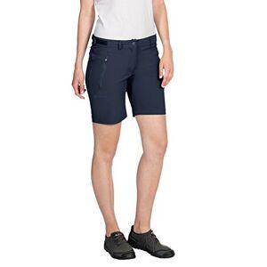 Vaude Farley Korte wandelbroek voor dames, stretch, blauw, 36