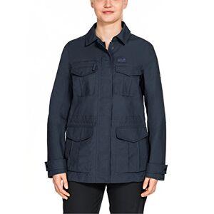 Jack Wolfskin, rock View Jacket, vrijetijdsjas voor dames, blauw, s