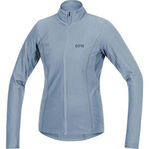 GORE Wear ademend damesshirt met lange mouwen, C3 thermo jersey, 100330, blauw, 36