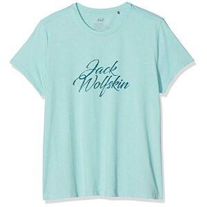 Jack Wolfskin, brand T-shirt voor dames, blauw, s