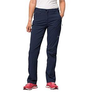 Jack Wolfskin, Activate Light Pants, dames, waterafstotend, elastisch, ademend, winddicht, outdoor softshell, wandelbroek, blauw, 42