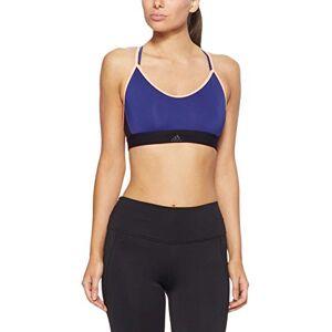 Adidas All Me Strappy Sportbeha voor dames, met lichte ondersteuning, blauw, l