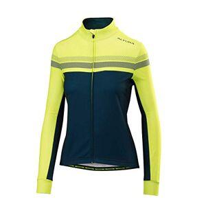 Altura Damen Night Vision 4Long Sleeve Jersey L Blue/Hi-Viz Yellow