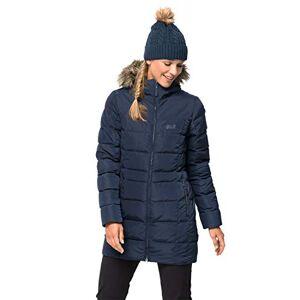 Jack Wolfskin Baffin Island Coat damesmantel., blauw, XS