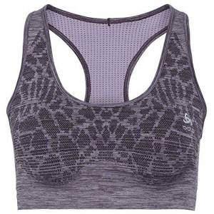Odlo - Blackcomb Seamless Medium Dames Sportbra, paars, m