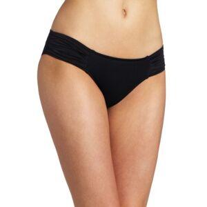 Seafolly dames bikinibroek pleated hipster - zwart (zwart), maat: 42