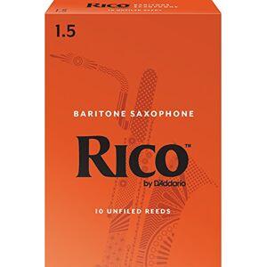 RICO bladeren voor baritonsaxofoon dikte 1,5 (3 stuks)