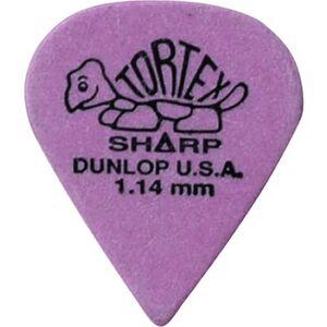 Dunlop Jim Dunlop 412P73 Tortex Sharp gitaarplectrums, 3,73 mm, 12 stuks
