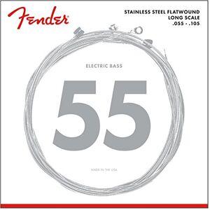 Fender Accessories Basssnaren van vernikkeld staal met rondom wikkeling 3