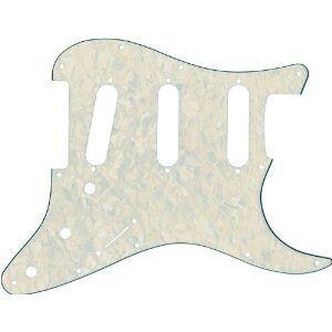 Fender 099–2140–000standaard stratocaster pickguard sss White pearl–pickguard
