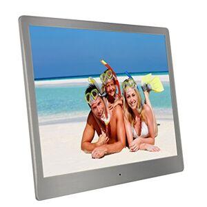 Telefunken DPF 10335 10Zoll Silber Digitaler Bilderrahmen - Digitale Bilderrahmen (25,4 cm (10 Zoll), 1024 x 768 Pixel, LED, 4:3, JPG, AVI)
