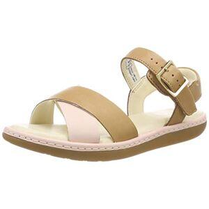 Clarks meisjes skylark Pure K Slingback sandalen - bruin - 32.5 EU