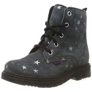 Richter Kinderschuhe Richter kinderschoenen meisjes Prisma Combat Boots - grijs - 27 EU