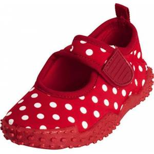 Playshoes meisjes UV-bescherming badschoenen aquaschoenen stippen (Uv-badeschuhe) - Rood origineel 900, maat: 28/29 EU