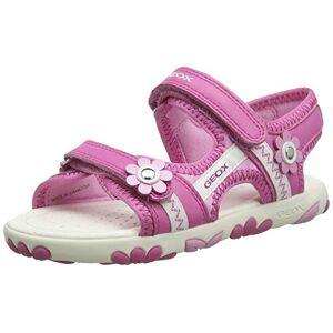 geox meisjes J sandal hahiti Girl B peeptoe - roze - 32 EU