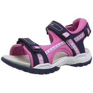 Geox J Borealis Girl A Peeptoe sandalen voor meisjes - blauw - 36 EU