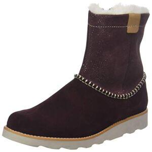 Clarks Crown Piper Sluiplaarzen voor meisjes - bruin - 21 EU