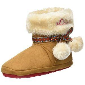 s.Oliver 45440 laarzen voor meisjes - bruin - 36 EU