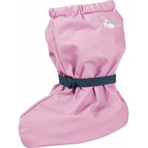 Playshoes Unisex baby waterdicht met fleece voering, regenoverschoenen voor jongens en meisjes - roze - medium