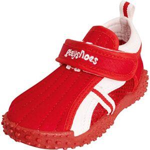 Playshoes 174798 Waterschoenen, sportief met UV-bescherming (Uv-badeschuhe) - rood (8), maat: 30/31