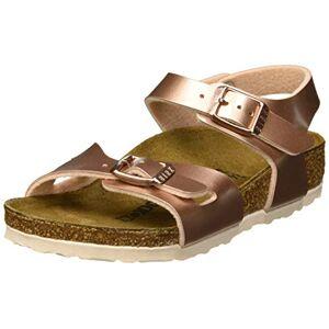 Birkenstock Rio Sandalen met riempjes, voor meisjes - bruin - 37 eu
