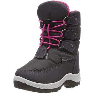 Playshoes Snow Boots Lace-up sneeuwlaarzen voor kinderen, uniseks - roze - 24/25 EU