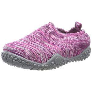 Playshoes Unisex kinderen gebreid lage slippers - roze - 22/23 EU