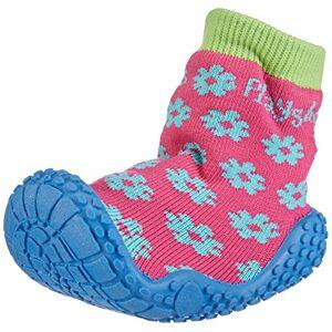 Playshoes Aqua-sok badschoenen bloem meisjes aqua schoenen - roze - 24/25 EU