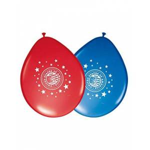 Folat 8ballonnen * Verenigde Staten & Amerika * voor mottoparty//ca. 30cm diameter//kinderen Party feier fete verjaardag ballon luchtballon decoratie US Stars Stripes