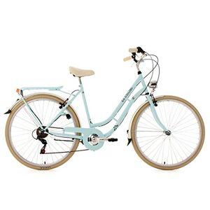 KS Cycling Dames fiets Casino lichtblauw, 6 versnellingen, framemaat 54 cm, 28 inch wielen, 952B