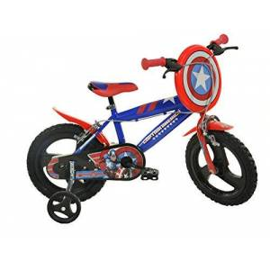 Dinobikes Dino Bikes 416u-CA 40,6cm Captain America fiets