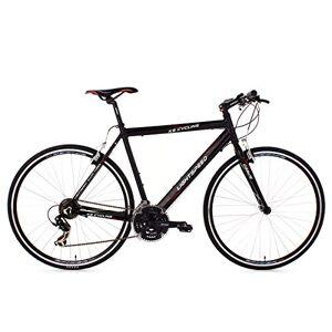KS Cycling Fitnessbike Aluminium Lightspeed Rh 54 cm, zwart, 28