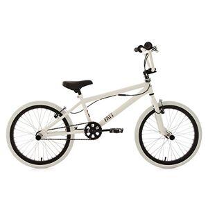 KS Cycling Freestyle Fatt Fiets BMX, wit, 20