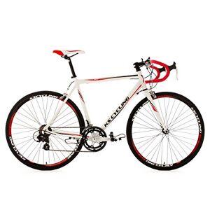 KS Cycling racefiets Aluminium Euphoria RH 58cm fiets, wit, 28