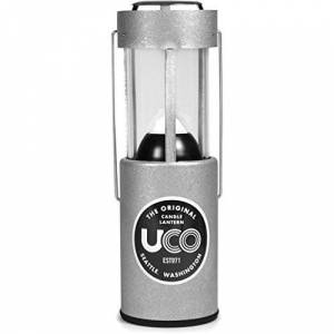 UCO aluminium kaarsenlantaarn, naturel, 054800