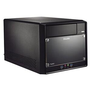 Shuttle barebones xpc Cube SH110R4Sokkel 1151i3/i5/i72x DDR43x SATA Intel H110pch 300watt Zwart