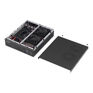 Shuttle barebones xpc Slim dh170Sokkel 1151Core i7/i5/i32x ddr3l 16001x SATA/SSD Chip H1704IN1-CR HDMI 2x DP USB/32x RJ45Zwart