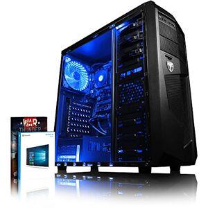 vibox vbx-PC-261239Gaming Desktop PC (AMD A10–9700, 4000GB harde schijf, 4GB RAM, Win 10Home) Blauw