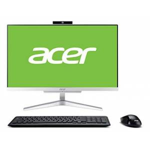 Acer Aspire C22-865 All-in-One Desktop-PC (Intel Core i3-8130, 4 GB RAM, 1 TB HDD, Windows 10 Home) Silber