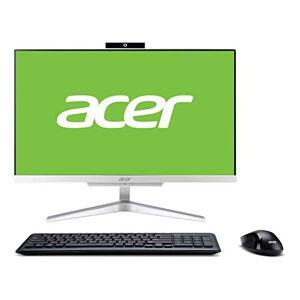 Acer Aspire C22-865 All-in-One Desktop-PC (Intel Core i3-8130, 8 GB RAM, 1 TB HDD, Intel UHD Graphics 620, Windows 10 Home) Silber