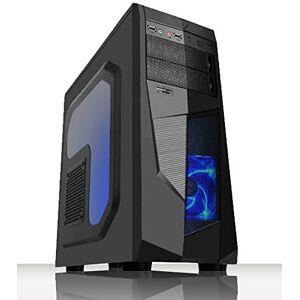 VIBOX Ultra 11S Gaming PC Computer met War Thunder Game Bundle, 22 inch HD Monitor (3,4 GHz AMD A8 Quad-Core processor, Radeon R7 grafische chip, 8Go DDR4 2133MHz RAM, 1TB HDD, zonder besturingssysteem)