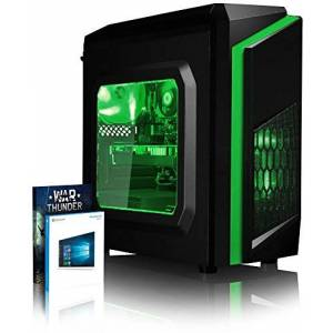 VIBOX Cetus 8 Gaming PC Computer with War Thunder Game Bundle, Windows 10 Pro OS (4.9GHz Intel i7 8-Core Coffee Lake Processor, Nvidia GeForce RTX 2070 Graphics Card, 32Go DDR4 2400MHz RAM, 3TB HDD)...