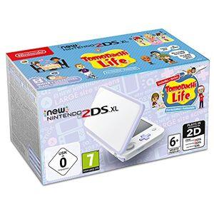 Nintendo New 2DS XL wit lavendel incl. Tomodachi Life