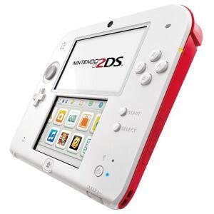 Nintendo 2DS - Konsole, rot/wei