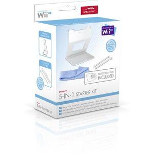 Speedlink accessoireset voor Wii U - 5-IN-1 STARTER KIT - Comfort vijfdelige accessoirepakket (praktische GamePad-standaard met veilige grip - 2 touchpennen met touchscreen-zachte punt - beschermfolie voor het GamePad-scherm) wit